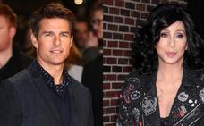 Cher y Tom Cruise, romance por un problema común