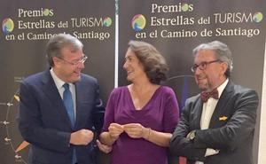 León recibe el premio 'Estrella del Camino de Santiago'
