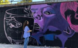 Nueve artistas urbanos participan en el concurso es.pabilARTE con obras en siete muros de la ciudad