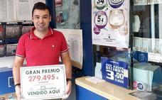 El sorteo de la Primitiva deja casi 280.000 euros en Trobajo del Camino