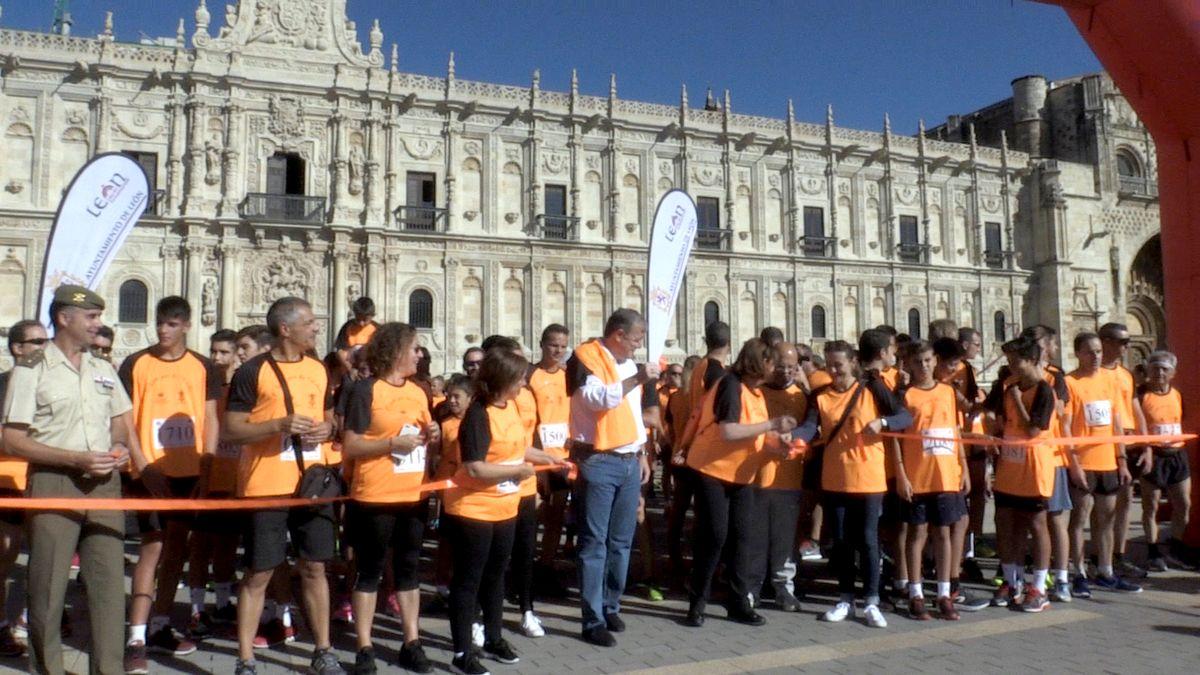 Carrera 'Corre por la vida' organizada por AlclesLeón