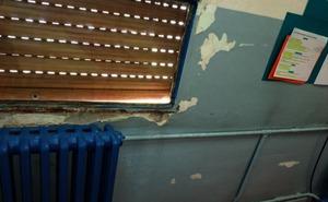 UPL califica de «vergonzoso» el estado de algunos colegios de León y exige la reparación inmediata