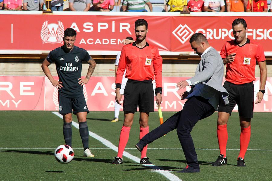 Las mejores imágenes del Cultural-Real Madrid B