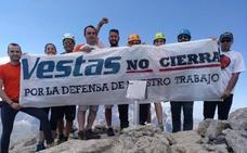 La plantilla de Vestas mira a Europa con la esperanza de mantener la actividad en las instalaciones de Villadangos del Páramo