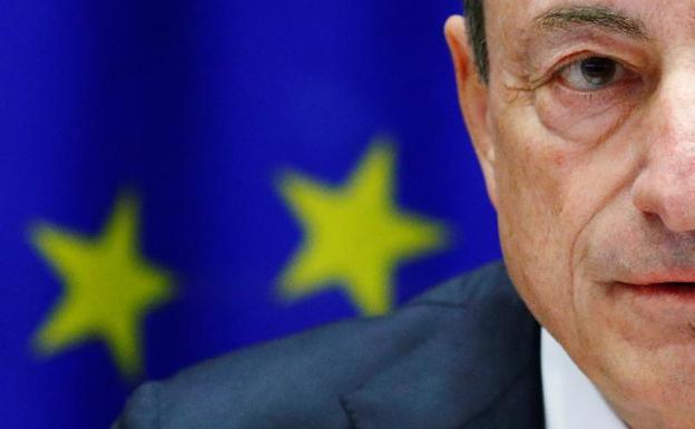 Mario Draghi./Reuters