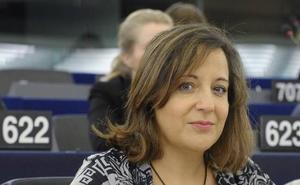 Iratxe García se reunirá en el Parlamento Europeo con representantes de Vestas