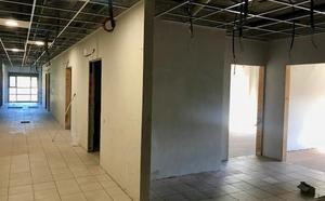 Las obras de la residencia de mayores de La Robla avanzan «a buen ritmo»