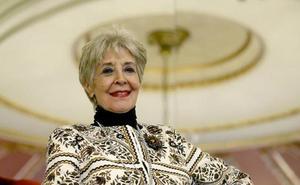 Concha Velasco, hospitalizada en Madrid por una neumonía