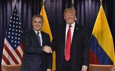 Trump propone una reunión con Maduro