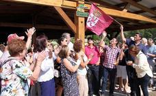 La Fiesta de la Recolección de La Candamia culmina con la inauguración de la plaza de los Huertos