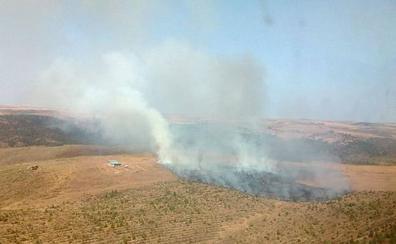 Castilla y León registra once incendios durante este sábado, cinco de ellos intencionados