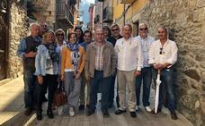 El jurado de la Capitalidad Española de la Gastronomía visita Molinaseca, Las Médulas y Astorga