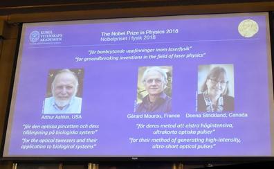 Nobel de Física para los científicos de la tecnología láser