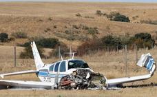 Salen milagrosamente ilesos tras estrellarse su avioneta en Fuentemilanos