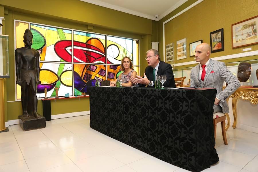 Silván inaugura el curso en el Museo Lice Egipcio