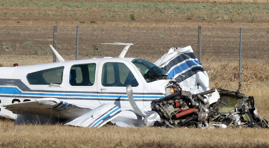 Accidente de avioneta en Segovia