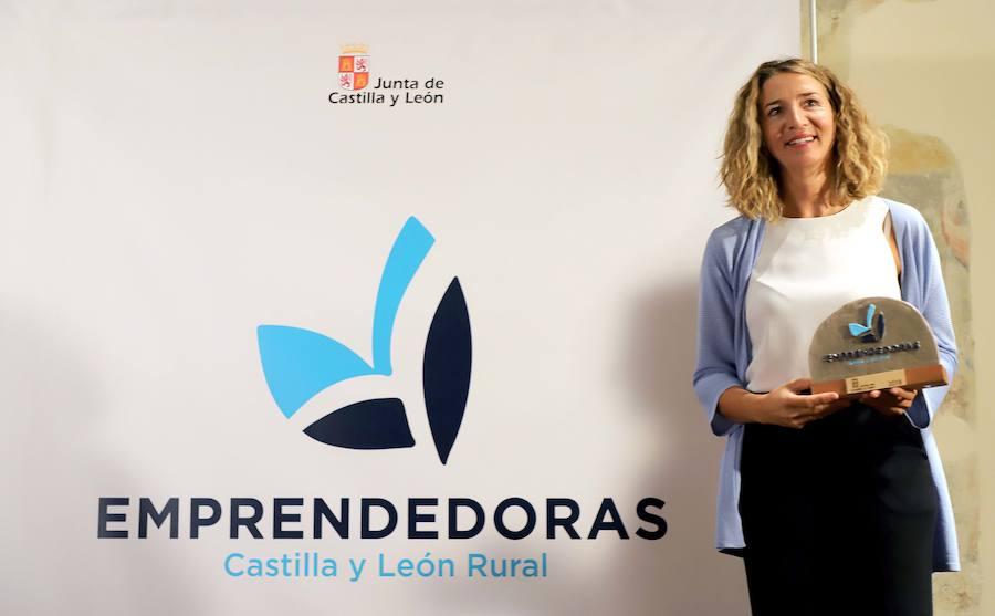 Entrega de los 'I Premios Emprendedoras Castilla y León Rural'