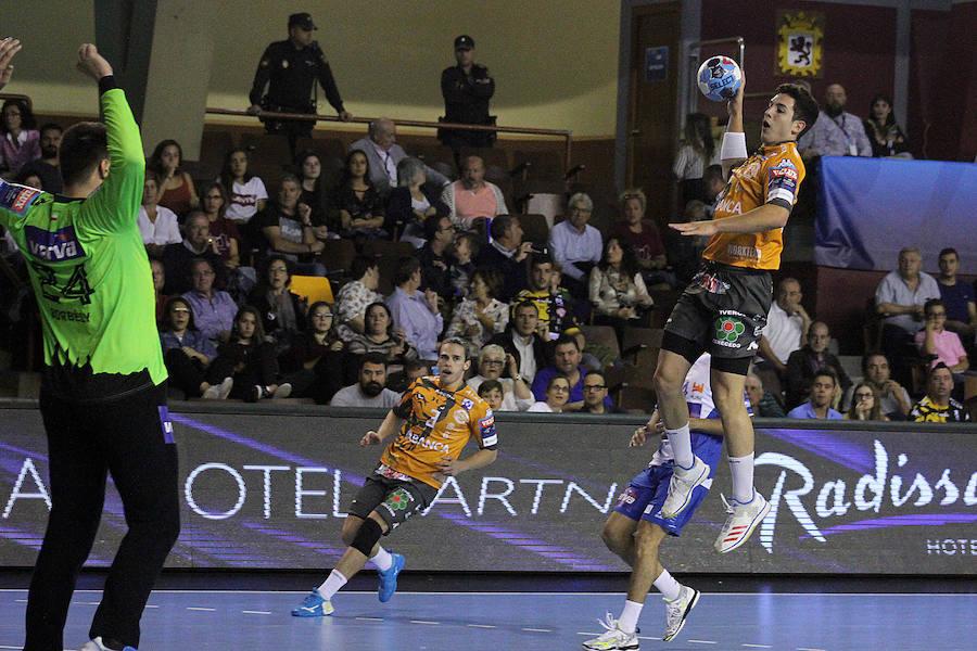 Victoria del Abanca Ademar ante el Wisla Plock en la Liga de Campeones