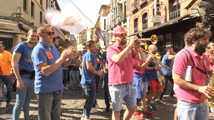 Las peñas celebran San Froilán
