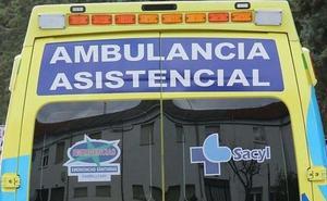 Herido un hombre de 85 años tras volcar su vehículo en el Alto del Portillo