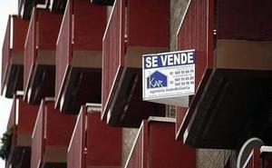 Las ejecuciones hipotecarias se redujeron en la Comunidad un 20,9%, frente a la caída del 6,2% del conjunto de España