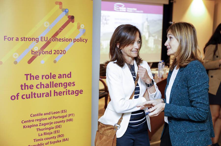 Inauguración del seminario 'El papel y los retos del patrimonio cultural en la Europa del mañana'