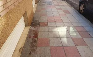 Cs exige al equipo de gobierno una limpieza profunda para eliminar la suciedad de las aceras en los barrios de León