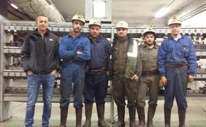Radial 21 despide a su plantilla y seis trabajadores se encierran en el pozo Emilio de la Hullera Vasco Leonesa