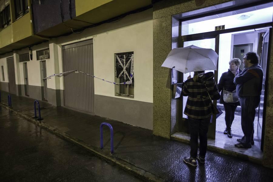 Detienen en Getxo al autor de la llamada anónima que denunció el crimen del anciano maniatado