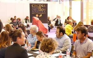 60 leoneses soplan velas con una cata de Cecina de León en el marco de la Feria de Productos