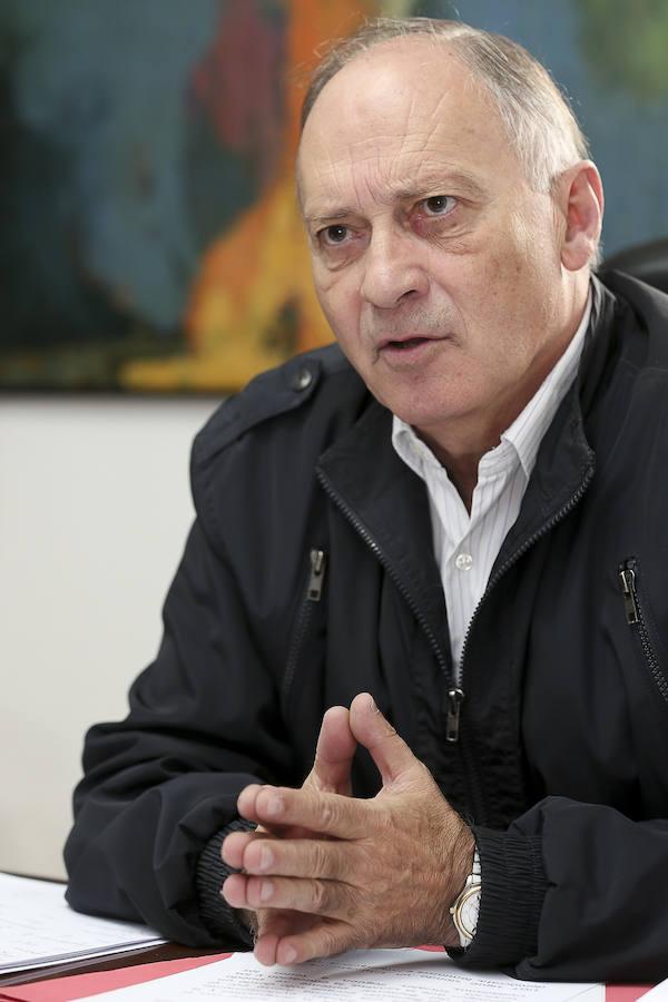 Faustino Temprano, secretario general de UGT en Castilla y León