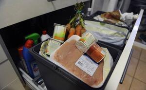 España tira a la basura 7,7 millones de toneladas de comida cada año
