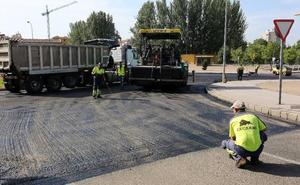 El martes comenzará el asfaltado del Paseo de Salamanca que se prolongará hasta durante ocho días
