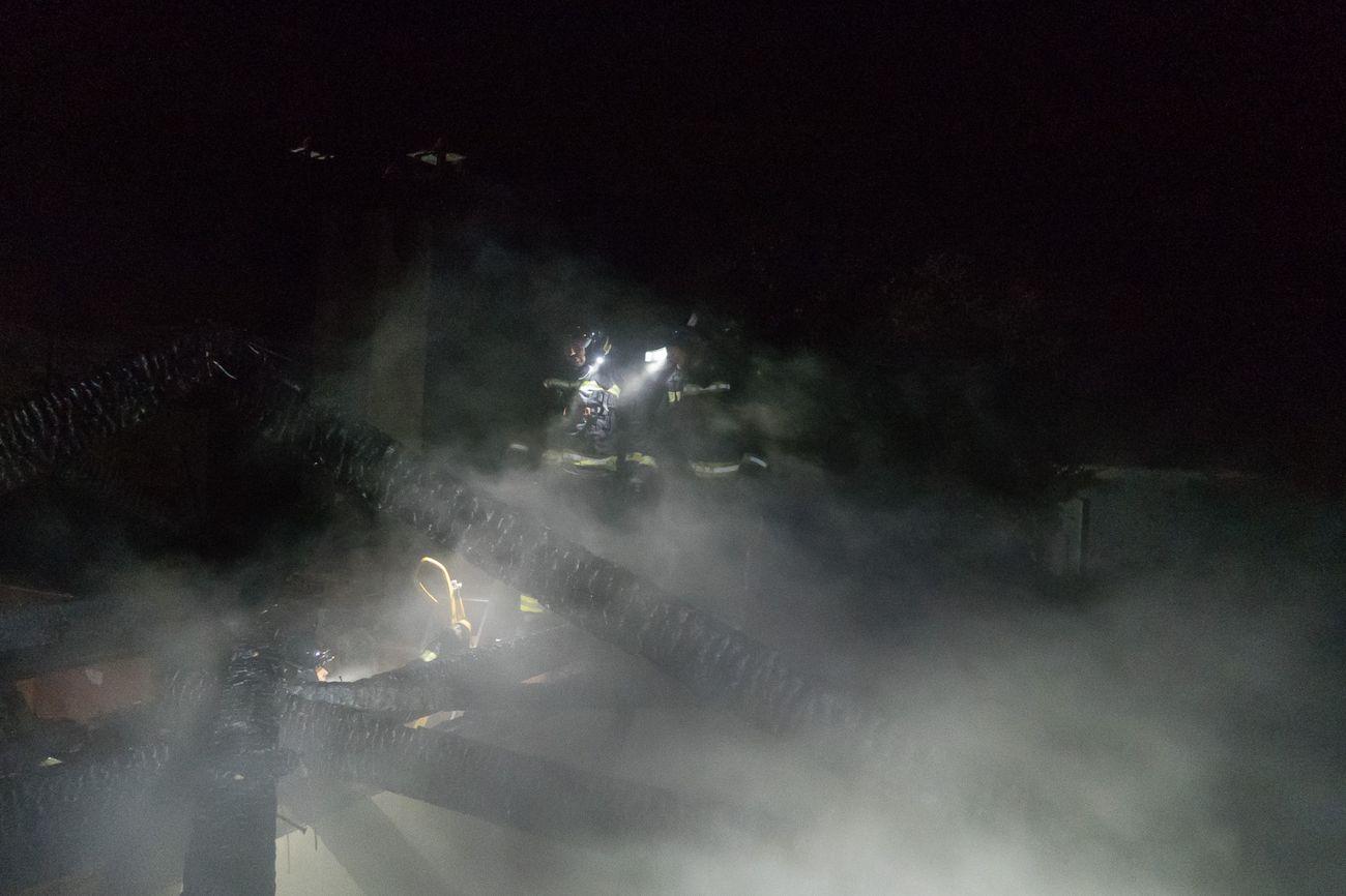 Fuego en Piedras Albas