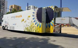 León acoge el Energytruck, la exposición itinerante sobre energía de la Fundación Naturgy