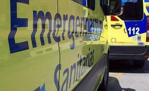 Tres jóvenes resultan heridos en la colisión entre un turismo y un camión en la A-6 a la altura de Pozuelo del Páramo