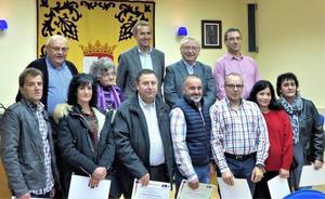 La Robla rinde homenaje a 12 donantes de sangre de la Montaña Central