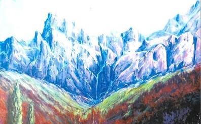 Una exposición de óleos de Luis Prado Allende en El Corte Inglés homenajea a los Picos de Europa