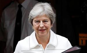 La primera ministra británica aún confía en un acuerdo con la UE sobre el Brexit