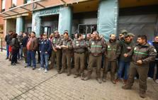 Concentración ante la sede de la Junta de Castilla y León en Ponferrada