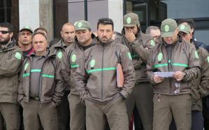 Los agentes forestales reclaman un protocolo de seguridad y poder contar con armas