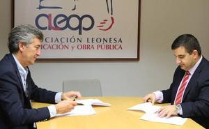 Aleop y Asefa Seguros unen fuerzas en beneficio de los empresarios de la construcción de la provincia