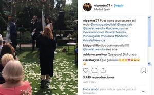 Unax Ugalde y Neus Cerdá ya son marido y mujer