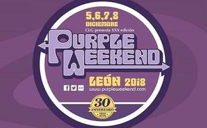 El Purple Weekend presume de cartel