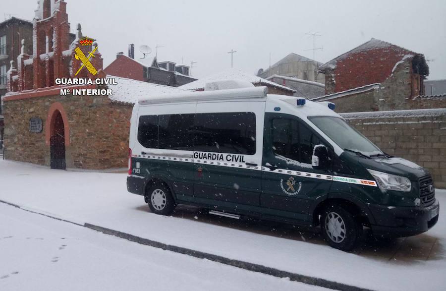 La Intervención Móvil de Armas de la Guardia Civil cumple un año sumando 46 servicios en León
