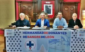 Cistierna rinde homenaje a 12 ejemplares donantes de sangre