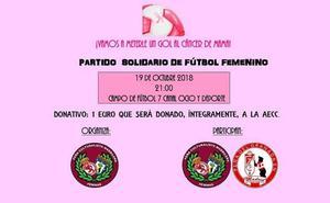 Las Féminas de la Peña Culturalista Madrileña organizan el evento 'zarpazo al cáncer de mama'