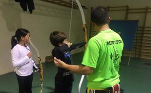 Arranca la escuela de tiro con arco de Astorga