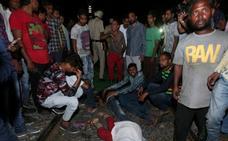 Las víctimas en la tragedia ferroviaria en India aumentan a 59 muertos y 143 heridos