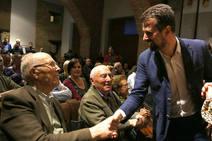 El secretario general del PSOE en Castilla y León, acude al Acto Homenaje a los mayores de 90 años